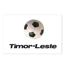 Timor-Leste soccer Postcards (Package of 8)