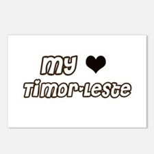 Timor leste pride Postcards (Package of 8)