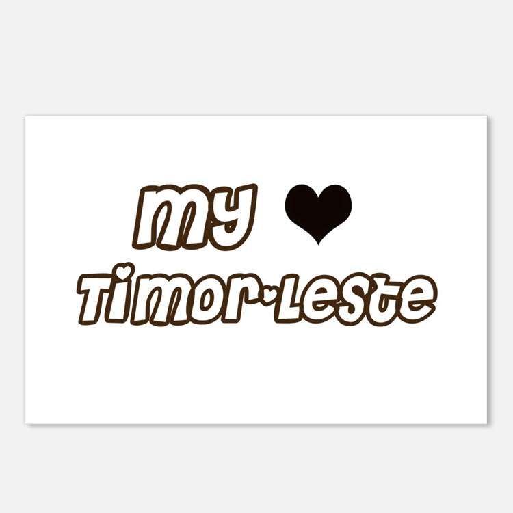 Cute Timor leste vacation Postcards (Package of 8)