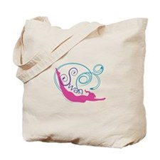 Pilates Swan Tote Bag