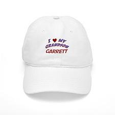 I Love My Grandson Garrett Baseball Cap