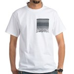 Chic Fashion - Keffiyeh White T-Shirt