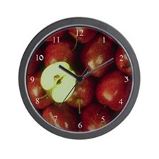 Apple Harvest Wall Clock