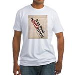 Ron Paul Constitution Fitted T-Shirt