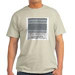 Chic Fashion - Keffiyeh Ash Grey T-Shirt