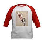 Ron Paul Constitution Kids Baseball Jersey
