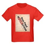 Ron Paul Constitution Kids Dark T-Shirt