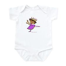 Lil Purple Ballerina Infant Bodysuit