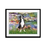 Lilies / GSMD Framed Panel Print
