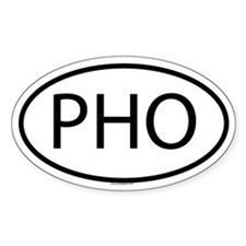 PHO Oval Decal