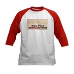 Ron Paul Preamble-C Kids Baseball Jersey