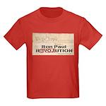 Ron Paul Preamble-C Kids Dark T-Shirt