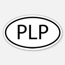 PLP Oval Decal