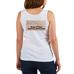Ron Paul Preamble-C Women's Tank Top