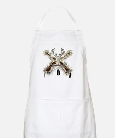 deer whitetail hunter gift hu BBQ Apron