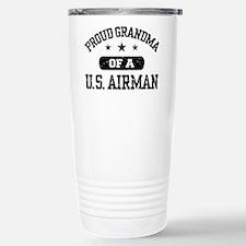 Funny Military grandmother Travel Mug