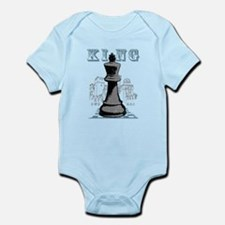 Black King Chess Mate Body Suit