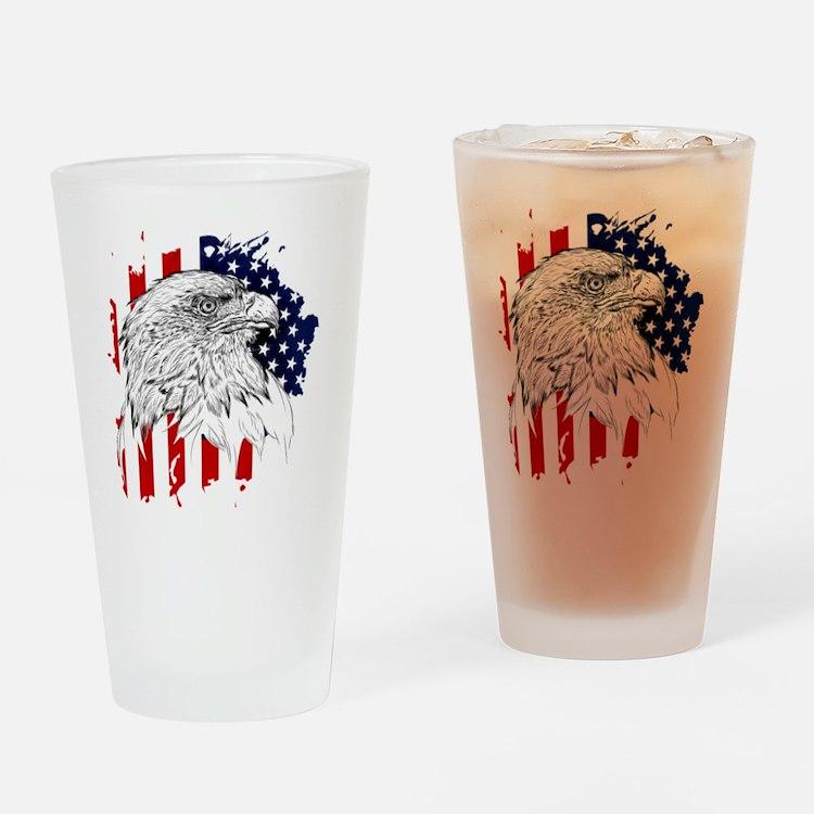 Cute California spangled Drinking Glass