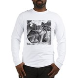 Baby wolf Long Sleeve T-shirts