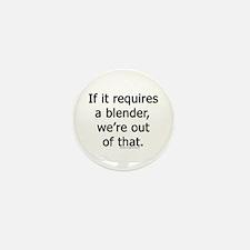 Unique Bartender Mini Button (10 pack)