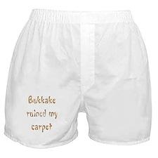 bukkake ruined my carpet Boxer Shorts