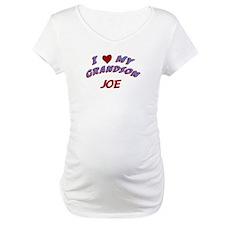 I Love My Grandson Joe Shirt