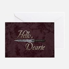 Hello Dearie Greeting Card