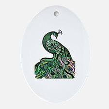 Cute Artistic Oval Ornament