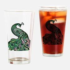 Cute Artistic Drinking Glass