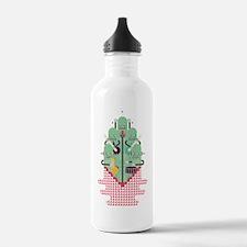 Robo Band Quintet Water Bottle