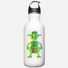 Cool Androids Water Bottle