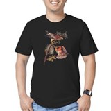 Birds of prey Fitted T-shirts (Dark)
