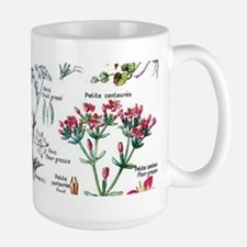 Botanical Illustrations - Larousse Plants Mugs