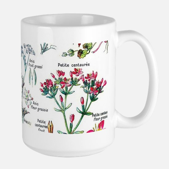 Botanical Illustrations - Larousse Plants Mugs