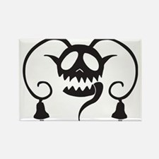 Cute Evil holidays Rectangle Magnet