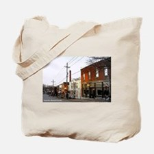 Cute Corner cafe Tote Bag