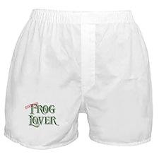 Frog Lover Boxer Shorts