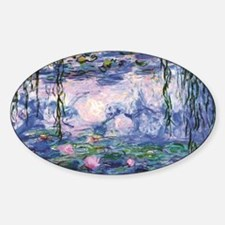 Monet's Water Lilies Decal
