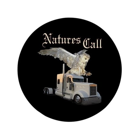 "Natures Call 3.5"" Button (100 pack)"