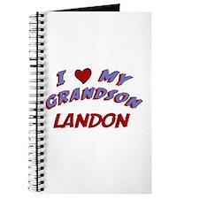 I Love My Grandson Landon Journal