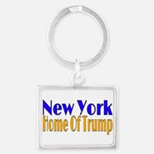 New York Home Of Trump Keychains