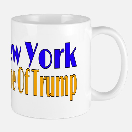 New York Home Of Trump Mugs