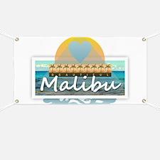 Malibu Banner