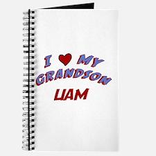 I Love My Grandson Liam Journal