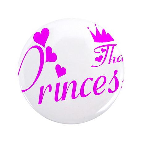 """Thai princess 3.5"""" Button (100 pack)"""