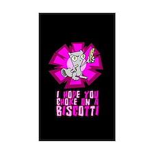 I Hope You Chole On A Biscotti Sticker