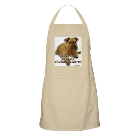 Love my Brussels Griffon unisex BBQ Apron