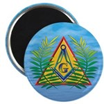 Masonic Acacia on the Pyramid Magnet
