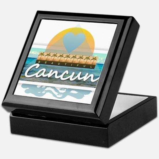 Cancun Keepsake Box