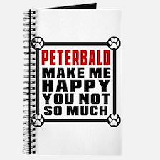 Peterbald Cat Make Me Happy Journal